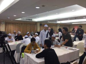กองวิเทศฯร่วกับชมรมนศ_17.มุสลิมและหน่วยงานภ